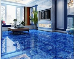 Epoxy Clear Topping for 3D Floors