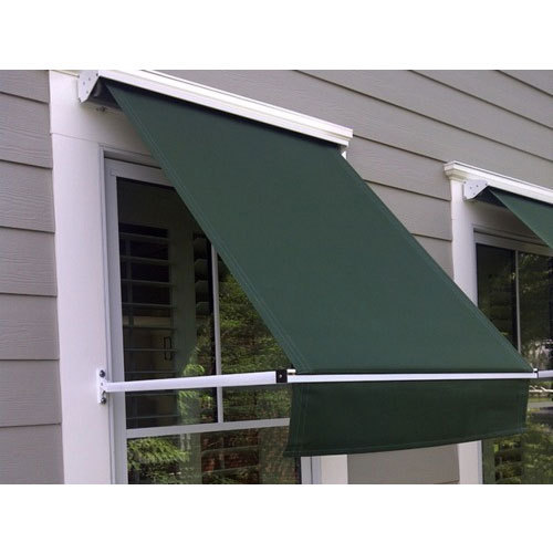 Dark Green Window Awning