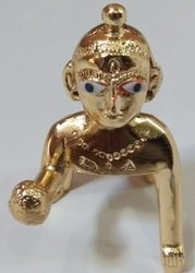 Laddu Gopal Metal Statue