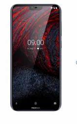 Black Nokia 6 Point 1 Plus Mobile Phone