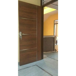 Interior Hinged Wooden Door