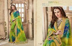 Kessi Bandhej Vol 5 Designer Bandhani Saree