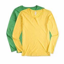 Ladies Full Sleeve Plain T-Shirt
