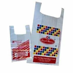 Plastic Handled Printed Carry Bag