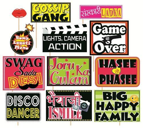 party props set of 12 funny wedding party themes प र ट
