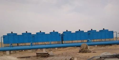 Induced Draft Cooling Tower for Oil Energy Industry