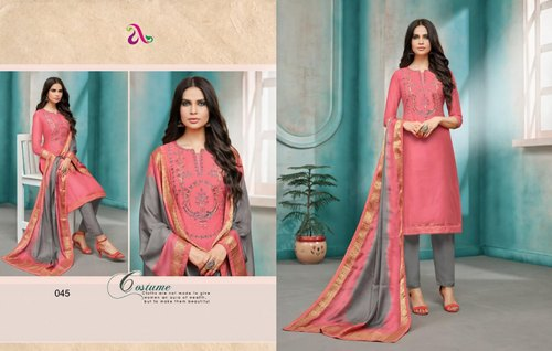1cc449391b Formal Wear Angroop Plus Diana Vol 3 Maslin Fabric Suits. mark as favourite
