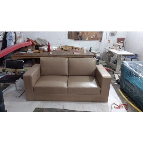 Brown Leatherette 2 Seater Sofa Set Rs 10000 Seat M D Doors