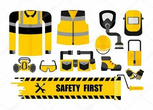 Yellow Polyester Safety Equipments, For Industrial