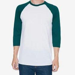 Men's Plain Cotton T Shirt