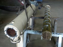 Steel Re-Tubing Of Heat Exchangers, for Mining & Construction Industry