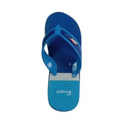 Daily Wear Mens Embossed Slipper, Size: 6x9,6x10 Number