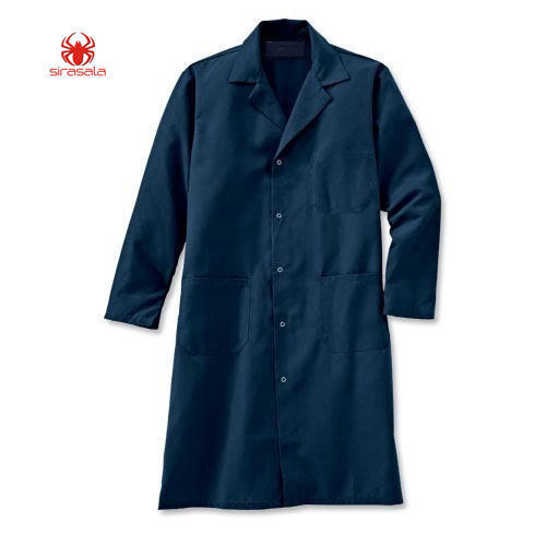 Lab Coats Navy Blue Labcoat Manufacturer From Hyderabad