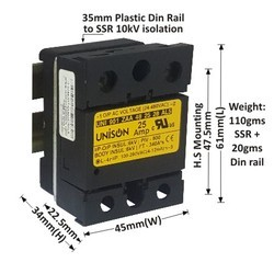 25 AMP AC to AC SOLID STATE RELAY
