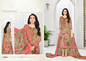 Cambric Cotton Printed Party Wear Salwar Kameez