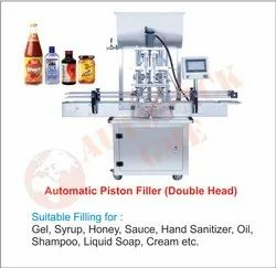 4 Head Pneumatic Shampoo Filling Machine / Hand Sanitizer Filling Machine