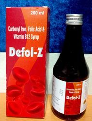 Carbonyl Iron Folic Acid & Vitamin B12 Syrup