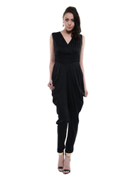 Black Jumpsuit (COT411B)