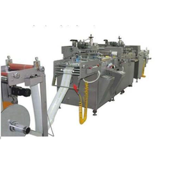 Semi-Automatic Roll To Roll Screen Printing Machine