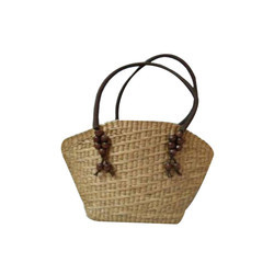 Bamboo Handle Ladies Bag