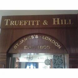 Brass Signage Board