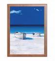 Beach Print Wedding Card