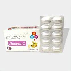 Probiotic and Prebiotic Zinc Sulphate Sachet