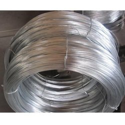 Silver Mild Steel Galvanized Wire, For Agriculture