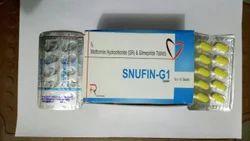 Metformin 500mg(Sr) Glimepride 1mg Tablets