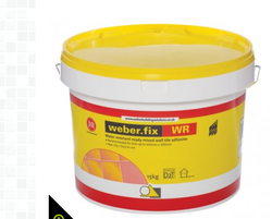 Weber Fix WR Acrylic Ready Mixed Wall Tile Adhesive 15KG