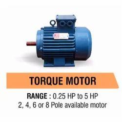 Three Phase Electric Torque Motor, Power: 0.25 - 5 hp