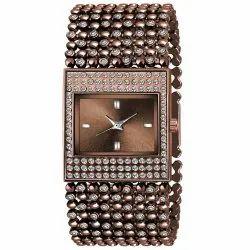 INDZONE Wedding Wear Women's Metal Bracelet Watches