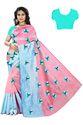 Cotton Silk Embroidery Saree