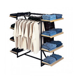 Hanging With Shelves Rack
