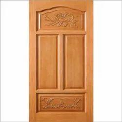Standard Interior Wooden Door, For Home, Hotel, Thickness: 19 Mm