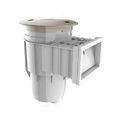 Abs Wide Mouth Wall Skimmer, Flow Rate: 115 L/min