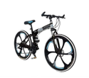 BMW Black Silver Foldable Cycle