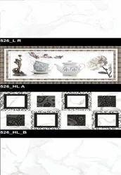 526 (LR, HLA, HLB) Hexa Ceramic Tiles Glossy  Series