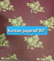 Korean Jacquard ''''80'''' Cotton Fabric