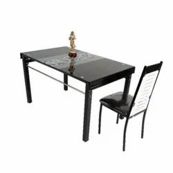 Rectangular Wooden Dining Table, For Home