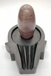 Granite Yoni Base Shivalingam