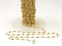 Muti Beaded Chain Semi Precious Stone Chain