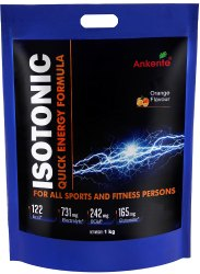 Ankerite Isotonic : a Quick Energy Formula With L-Glutamine & BCAA Protein Blends (1 Kg, Orange)