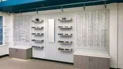 Optical Showroom Designing, 3D Interior Design Available : Yes