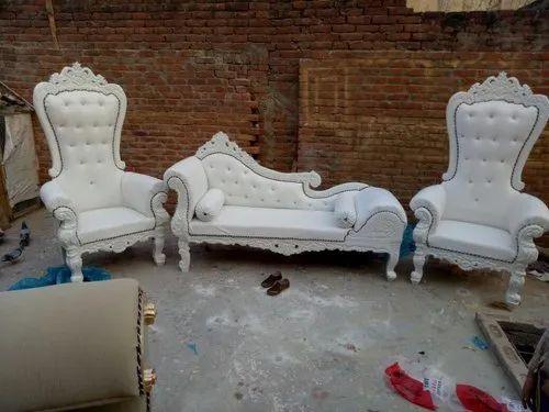 Stupendous White Wedding Sofa Set Inzonedesignstudio Interior Chair Design Inzonedesignstudiocom