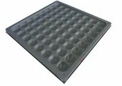 Steel Bare Panel, Size: 600x600, Thickness: 33mm