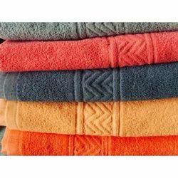 Cotton Plain Designer Bath Towel