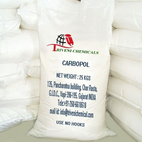 Industrial Grade Solid Carbopol, Triveni Chemicals | ID: 1596597873