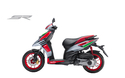 White And Black Aprilia 150 Race