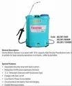 Kisankraft Double Pump Aspee Electro Battery Powered Knapsack Sprayer, For Agriculture & Farming